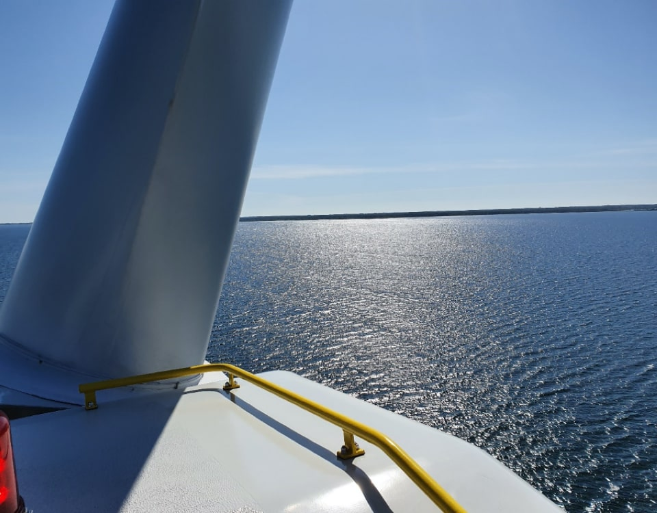 inspection of Offshore Windfarm Bockstigen-min