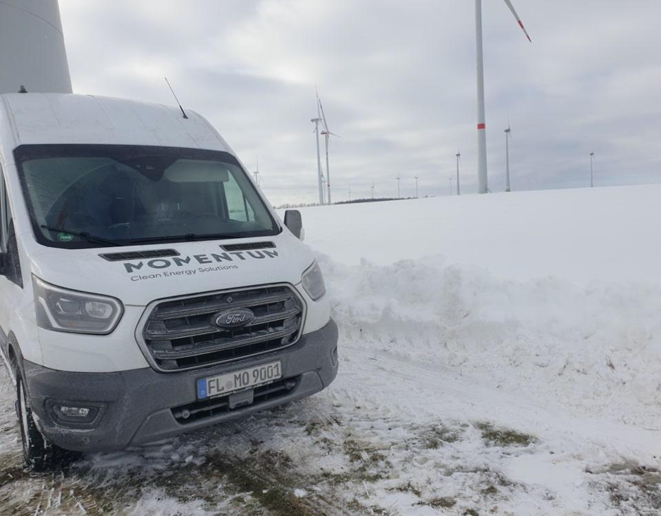 Momentum-snow-drifting